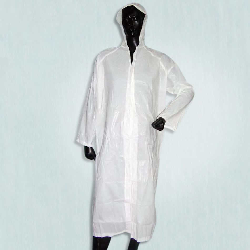 how to stop raincoat crinkling